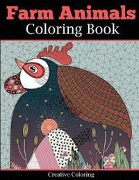 Farm Animals Coloring Book for Adults by Creative Coloring