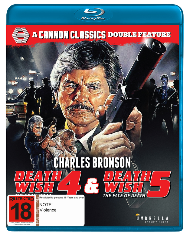 Death Wish 4 & 5 on Blu-ray