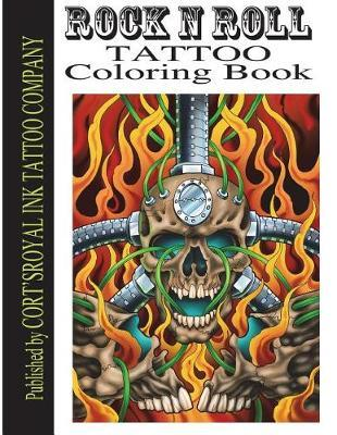 Rock and Roll Coloring Book by Mr Cort Bengtson