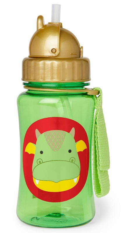 Skip Hop: Zoo Straw Bottle - Dragon