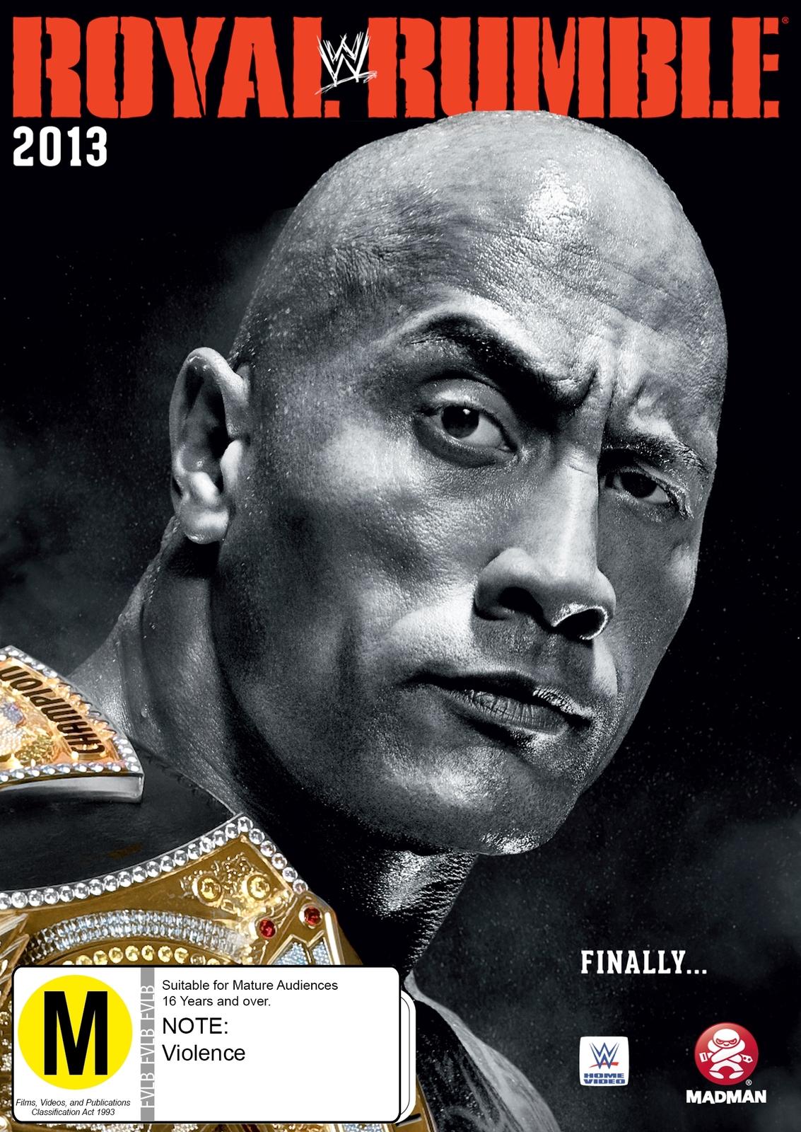 WWE Royal Rumble 2013 on DVD image