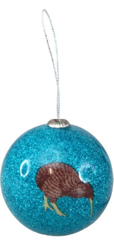 Antics: Christmas Decoration - Blue Kiwi