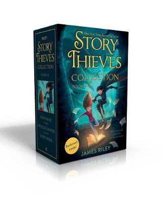 Story Thieves Collection Books 1-3 (Bookmark Inside!) by James Riley