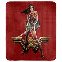 Wonder Woman Throw Rug image