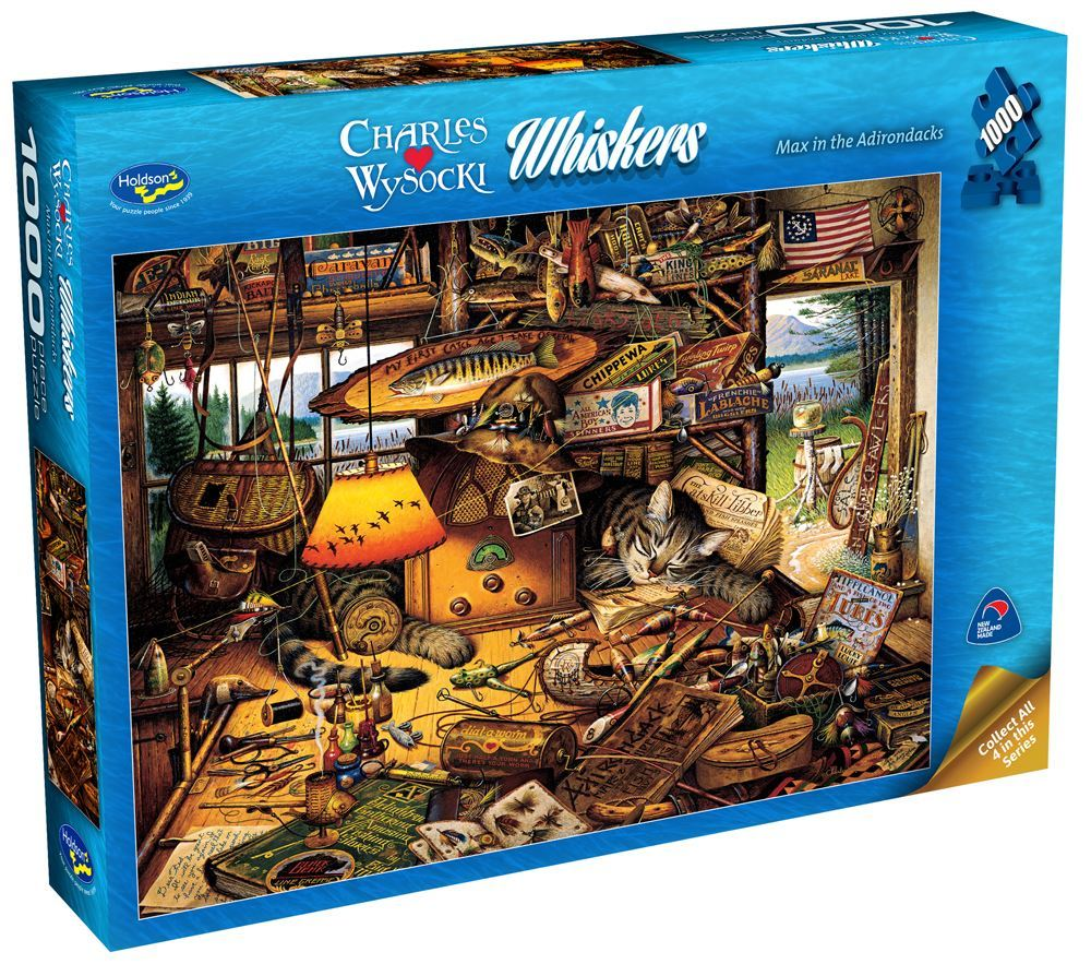 Wysocki: Max in the Adirondacks - 1000 Piece Puzzle image