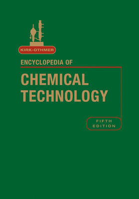 Encyclopedia of Chemical Technology: v. 14 by R.E. Kirk-Othmer image