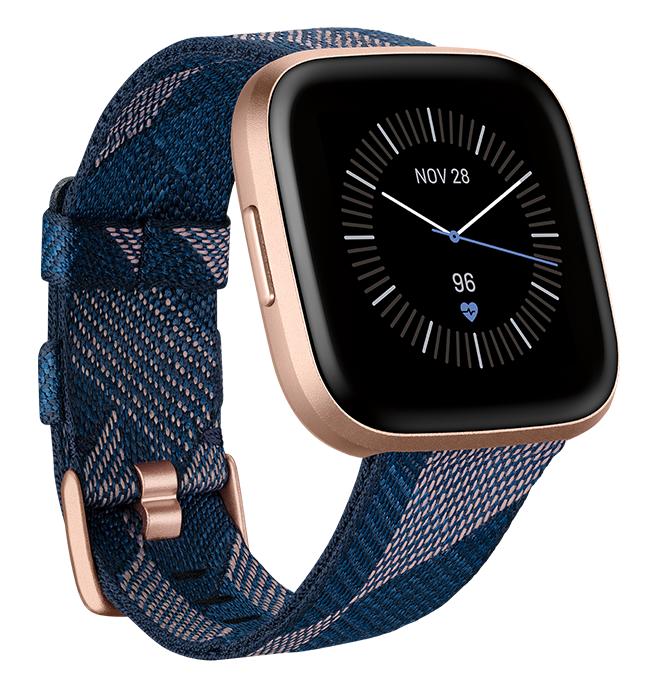 Fitbit: Versa 2 SE - Woven Navy/Pink image