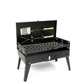 Premium Foldable Portable Charcoal BBQ with Cover and Tools