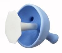 Mombella: Mushroom Soothing Teether - Blue
