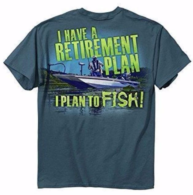 Buck Wear Retirement T-Shirt (Large)