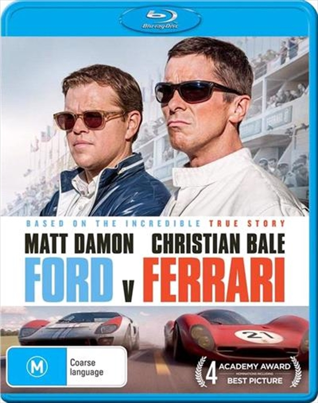 Ford v Ferrari on Blu-ray
