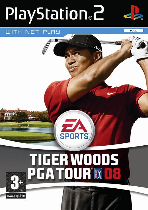 Tiger Woods PGA Tour 08 for PlayStation 2