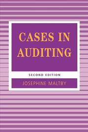 Cases in Auditing by Josephine Maltby image