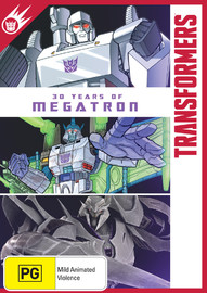 Transformers: 30 Years of Megatron on DVD