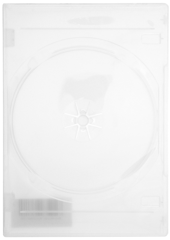 DVD Replacement Case - 14mm (2 Disc)