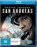 San Andreas on Blu-ray