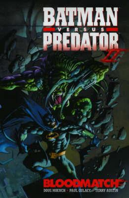 Batman vs Predator by Dave Gibbons