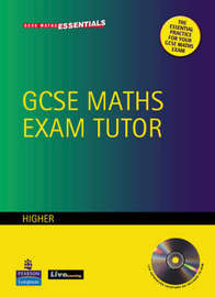 GCSE Maths Exam Tutor: Higher Workbook by J Barrett image