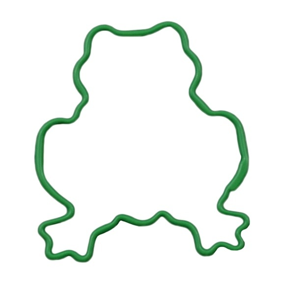Frog Cookie Cutter 7.5cm - Green image