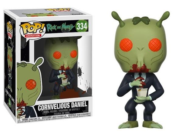 Rick & Morty – Cornvelious Daniel Pop! Vinyl Figure image
