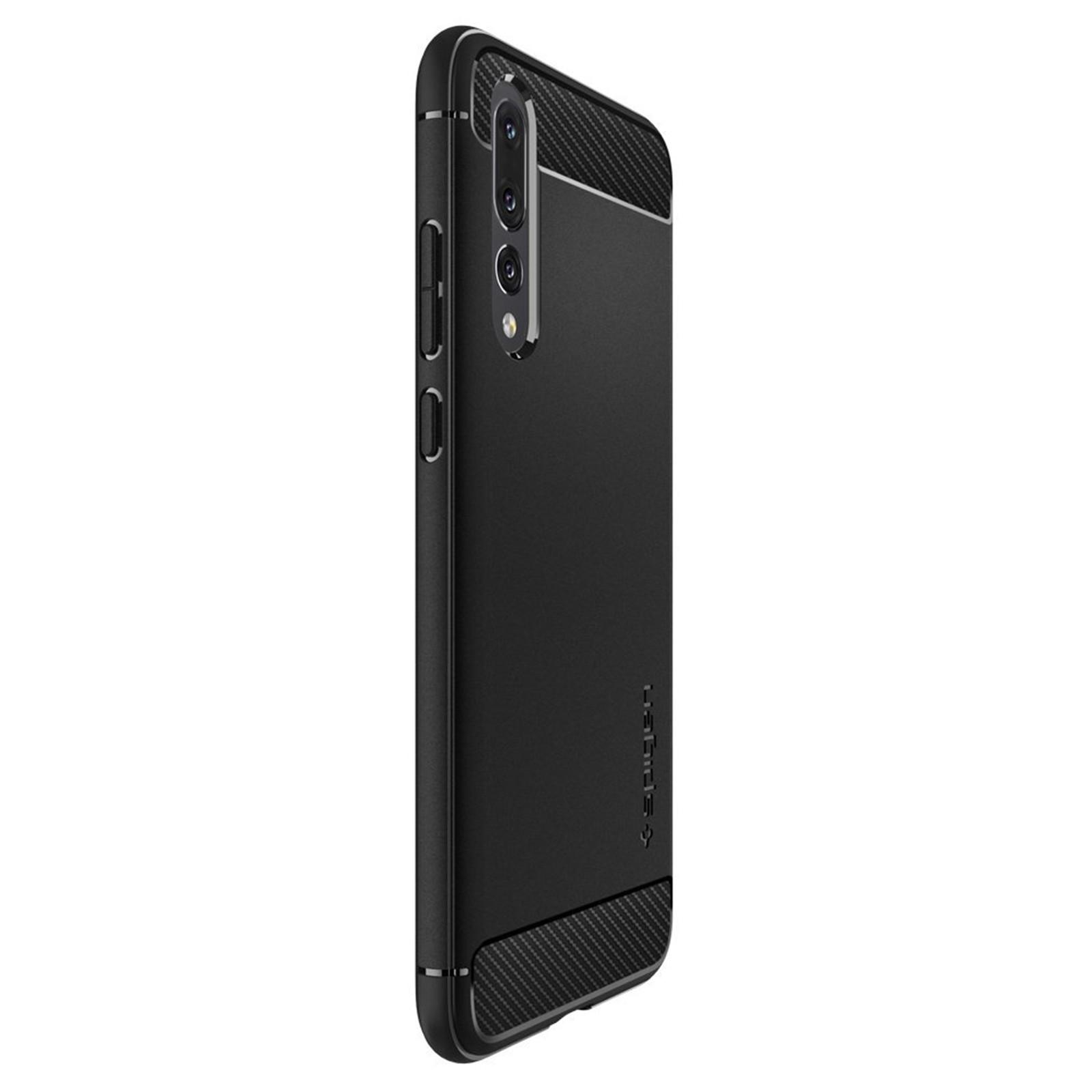 Spigen Huawei P20 Pro Rugged Armour Case - Black