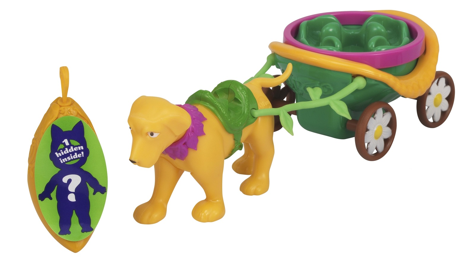 QPeas: Animal Carriages - Puppy Playset image