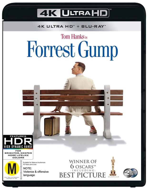 Forrest Gump on UHD Blu-ray