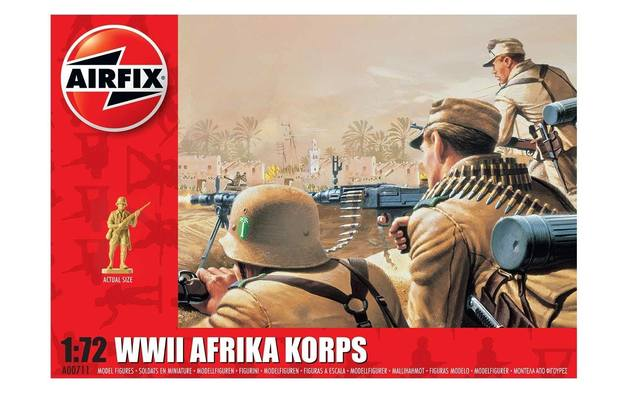Airfix 1:72 WWII Afrika Korps Scale Model Kit