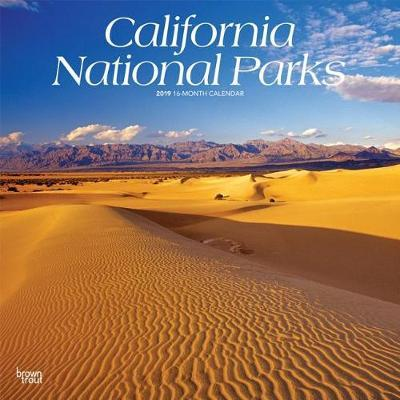 California National Parks 2019 Square by Inc Browntrout Publishers