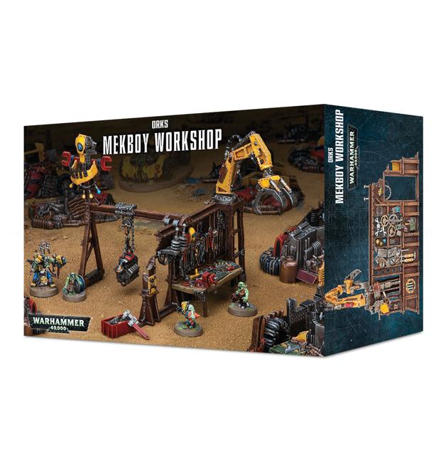 Warhammer 40,000 Ork Mek Workshop
