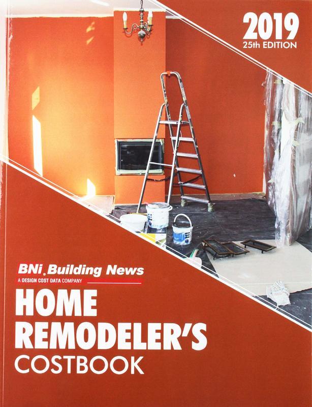 Bni 2019 Home Remodeler's Costbook