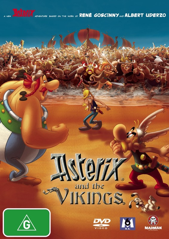 Asterix And The Vikings on DVD