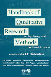 Handbook of Qualitative Research Methods for Psychology and the Social Sciences image