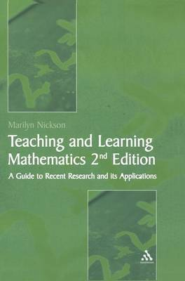 Teaching and Learning Mathematics by Marilyn Nickson
