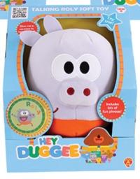 Hey Duggee Talking Squirrel Club Soft Toy - Rolly