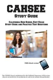 Cahsee Study Guide by Complete Test Preparation Inc image