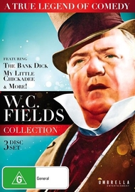 W.C. Fields Collection on DVD