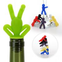 Billy Bottle Stopper and Friends Glass Marker Set