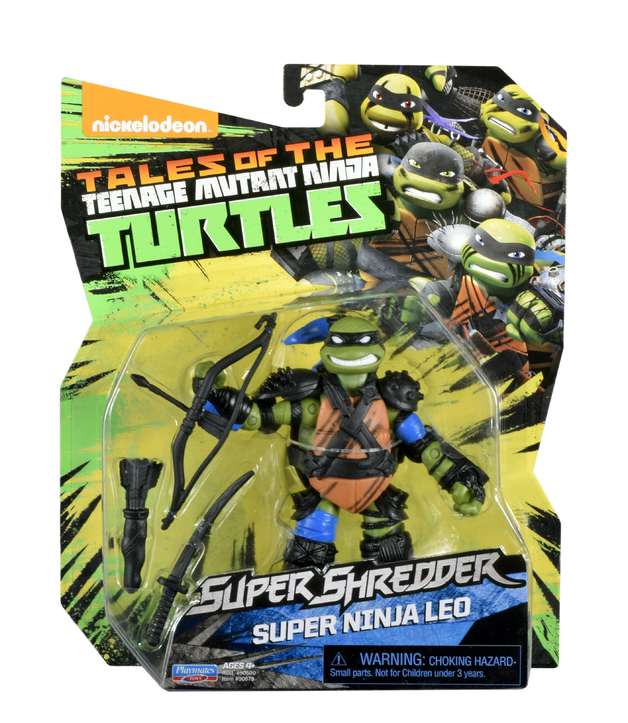 TMNT: Basic Action Figure - Super Ninja Leo