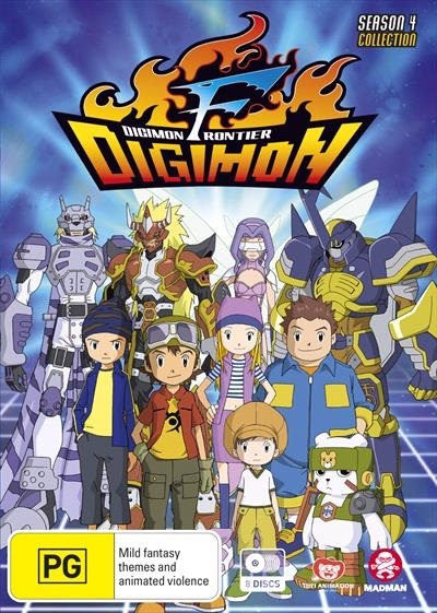 Digimon Frontier - The Complete Series (Season 4) on DVD image