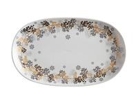 Maxwell & Williams: Yuletide Platter Oblong - Wreath (36x22cm)
