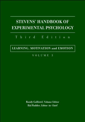 Stevens' Handbook of Experimental Psychology image