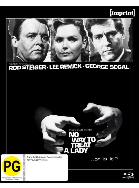 No Way To Treat A Lady (Imprint Collection # 7) on Blu-ray