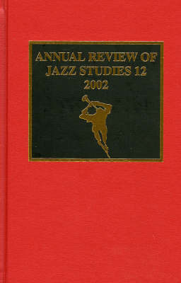 Annual Review of Jazz Studies 12: 2002 image