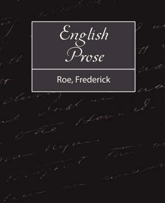 English Prose by Frederick Roe image
