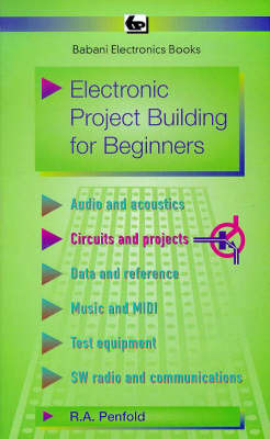 Electronic Project Building for Beginners by R.A. Penfold image