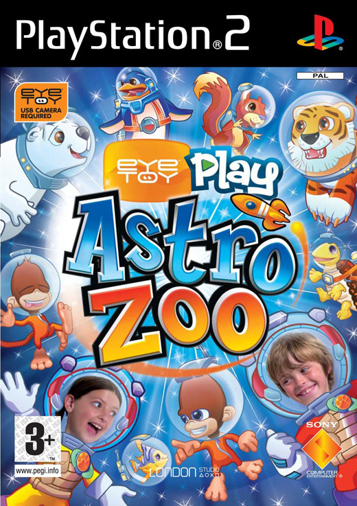 EyeToy Play: Astro Zoo with Camera for PlayStation 2