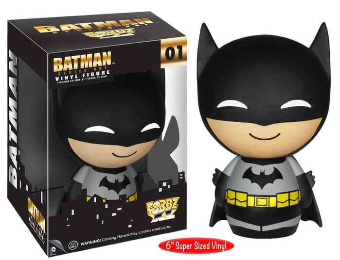 Batman: Black Suit 6-Inch Dorbz XL Vinyl Figure image