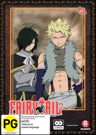 Fairy Tail - Collection 13 on DVD