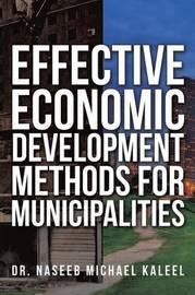 Effective Economic Development Methods for Municipalities by Dr Naseeb Michael Kaleel